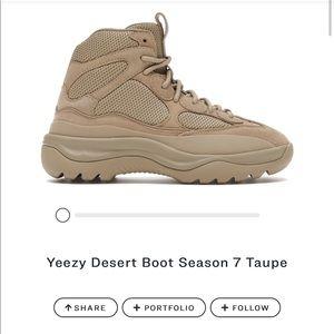YEEZY DESERT BOOT SEASON 7 TAUPE